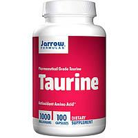 Таурин 1000 мг 100 капс помощь при сахарном диабете для сердца и сосудов Jarrow Formula USA
