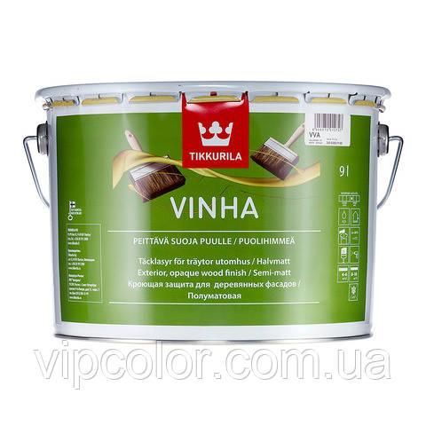 Tikkurila Vinha полуматовый антисептик для дерева VVA 9л