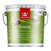 Tikkurila Vinha водоразбавляемая защита для наружных деревянных поверхностей VС 2,7 л