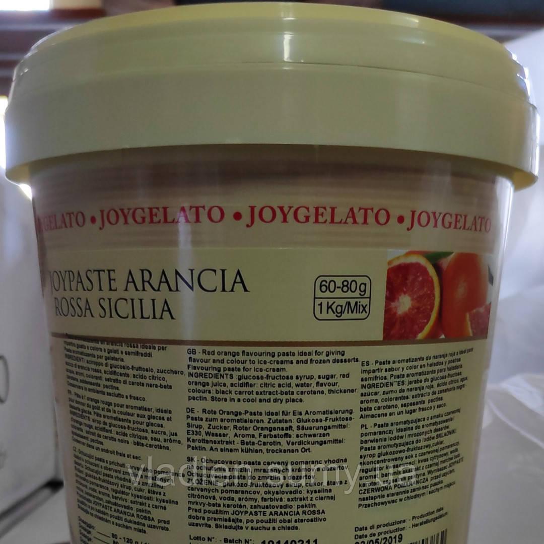 """Натуральная паста со вкусом сицилийского апельсина """"Joypaste Orange Sicilia"""", Италия (фасовка 1,2кг)"""