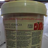"""Натуральная паста со вкусом сицилийского апельсина """"Joypaste Orange Sicilia"""", Италия (фасовка 1,2кг), фото 1"""