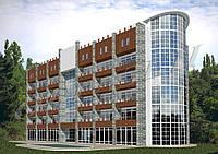Готовый проект гостиницы на 100 мест (курортная зона, люкс)