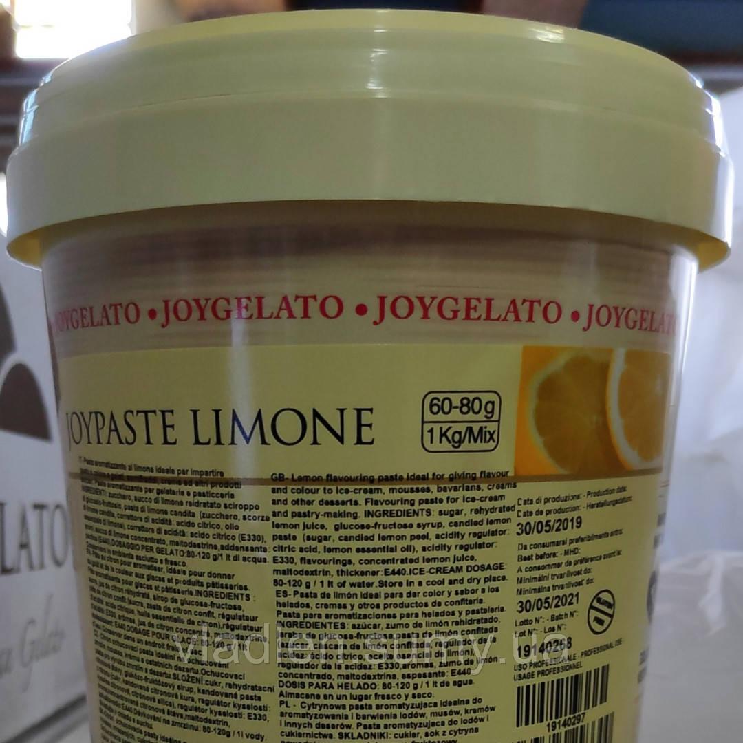 """Натуральная паста со вкусом лимона """"Joypaste Lemon"""", Италия (фасовка 1,2 кг)"""