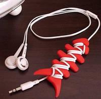 Органайзер для кабелю навушників Рибка / Органайзер для кабеля наушников Рыбка
