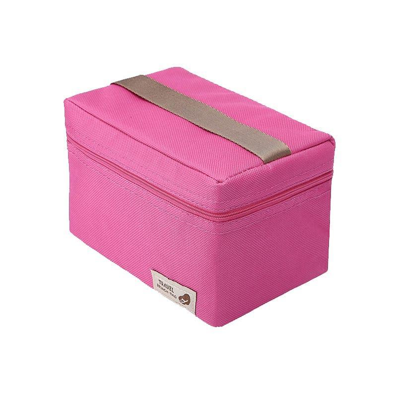 Ланч бэг Mini 1.8 л розовый (LB-4398)