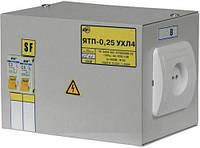 Ящик с понижающим трансформатором ЯТП 0,25 кВт 220/12В 2 IP30 IEK