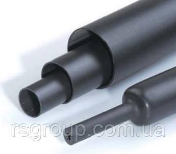 Среднестенная термоусаживаемая трубка 3:1 с клеем 6,4/2,0 мм