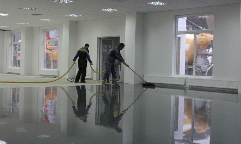 Пристрій монолітних бетонних підлог +