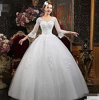 Свадебное платье роскошный стиль