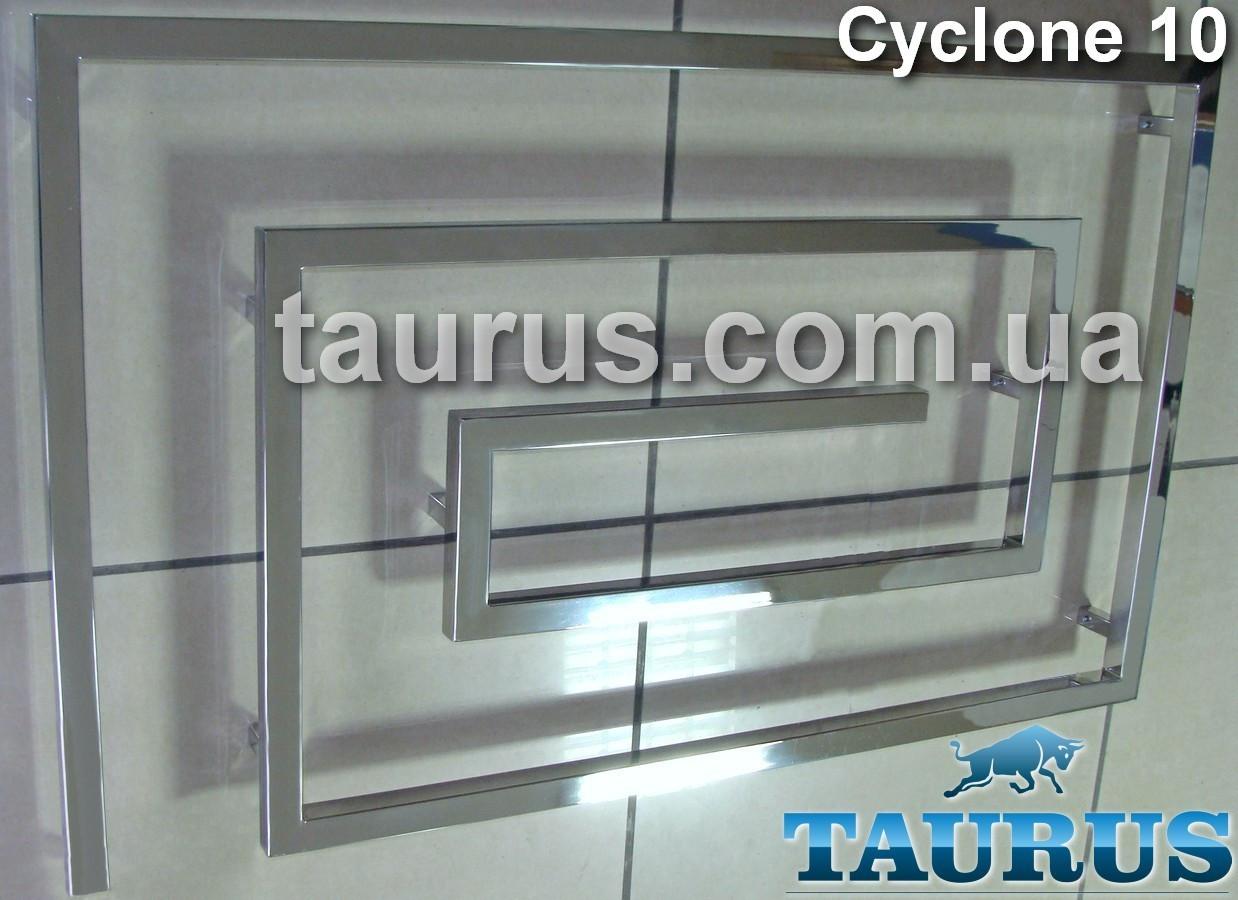 Громадный полотенцесушитель для большой ванной комнаты Cyclone 10 /670х1300. Уникальный дизайн