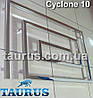 Громадный полотенцесушитель для большой ванной комнаты Cyclone 10 /670х1300. Уникальный дизайн, фото 4