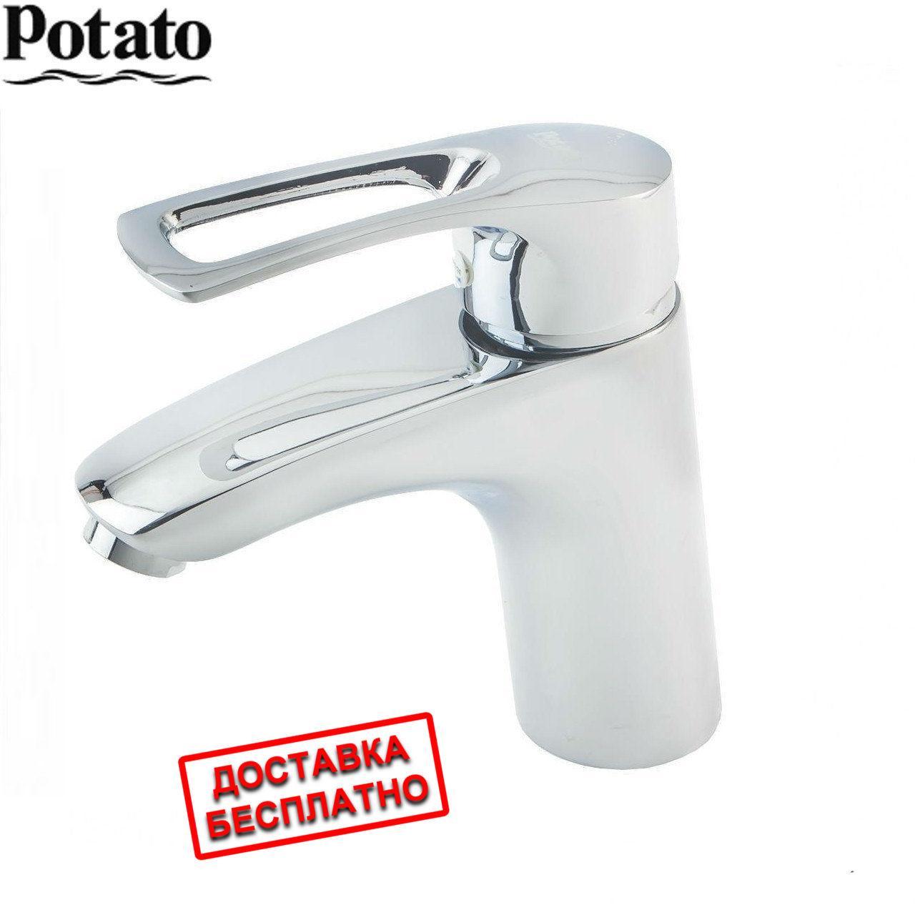 Смеситель для умывальника P1022 POTATO