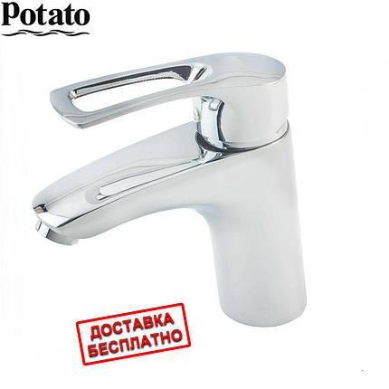 Смеситель для умывальника P1022 POTATO, фото 2