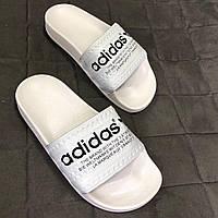 Женские шлепанцы Adidas Реплика, фото 1