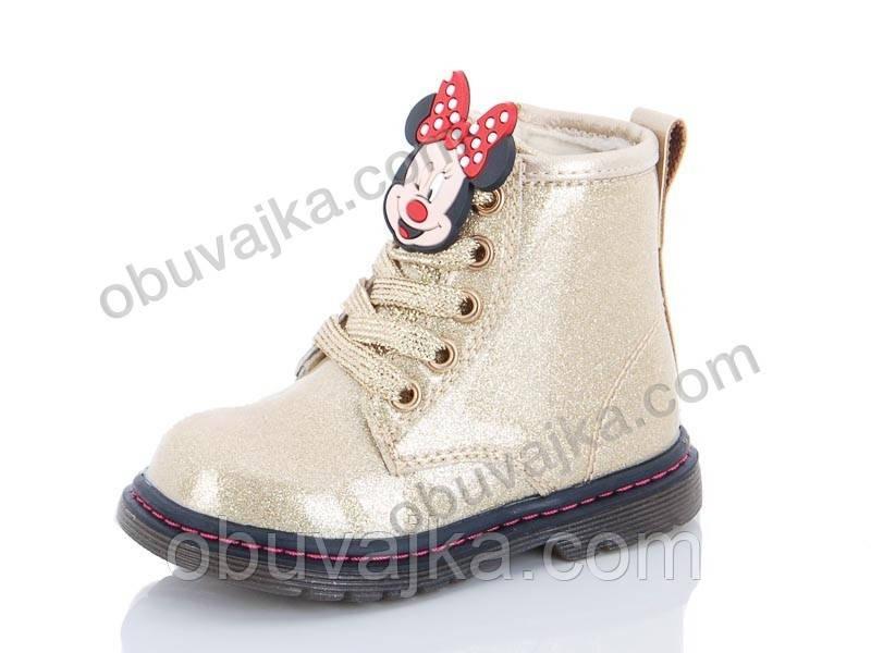 Демисезонная обувь оптом Ботинки от фирмы С Луч для девочек оптом(21-26)
