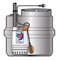 Pedrollo SAR 100 ― Dm 10 канализационная насосная станция для чистой воды