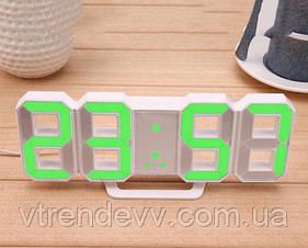 Часы электронные настольные с будильником и термометром Caixing CX-2218