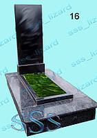 Одинарный памятник из гранита арт.16