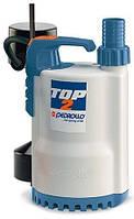 Pedrollo TOP2-GM однофазный дренажный погружной насос с магнитным поплавком