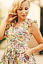 Женское платье с красивым цветочным принтом, фото 4