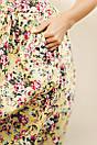 Женское платье с красивым цветочным принтом, фото 3