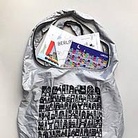 Дизайнерская эко сумка для покупок EcoLife для путешествий, фото 1