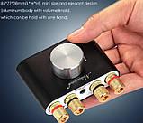 Усилитель звука NOBSOUND с Bluetooth 5.0 EDR HI-FI 2х50Вт  AUX, TPA3116, фото 2