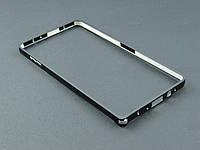 Бампер металл для Samsung Galaxy A7 A700 черный