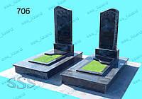 Одинарный памятник из гранита арт.70б