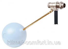 """Поплавковий Клапан 1/2"""" """"Сицилія"""" з пластиковим шаром 120 мм, стрижень 205 мм"""