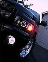 Передние фары тюнинг оптика Dodge Ram (94-01)