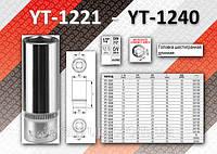 """Головка торцевая 6-гранная длинная 1/2"""" x 30 мм, YATO YT-1239"""