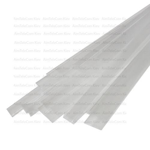 Термоусадка W-1-H WOER, 6.0/3.0мм, прозрачная, 1м (1уп/50м)