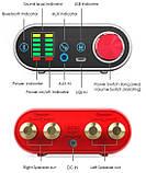 Усилитель звука NOBSOUND с Bluetooth 5.0 EDR HI-FI 2х50Вт USB звук, AUX, TPA3116, фото 8