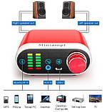 Усилитель звука NOBSOUND с Bluetooth 5.0 EDR HI-FI 2х50Вт USB звук, AUX, TPA3116, фото 3