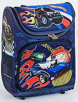 """Детский школьный рюкзак ортопедический 37х29х20см """"МАШИНЫ"""". Каркасный портфель, ранец для мальчика"""