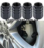Колпачки гайки болты колесные ниппель шины диски клапаны воздуха мото, автомобильные, велосипедные(4 шт набор)