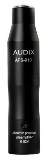 AUDIX APS910 Переходник/Адаптер фантомного питания, XLR - miniXLR.