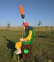 Садовая фигура Баба Яга, фото 3