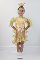 Детский карнавальный костюм Bonita Золотая Рыбка №4 105 - 120 см Золотой, фото 1