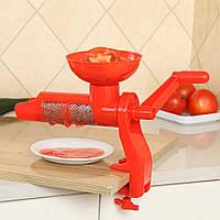 Соковыжималка для томатов шнековая ручная 2286-BX, фото 1