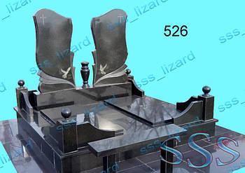 Памятник для двоих из гранита арт.526