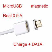 Магнитный micro usb Data кабель. Зарядка + Data для Android. Сохрани гнездо телефона.  (6537903548)