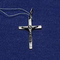 Серебряный крестик с чернением Всевышний 3700-ч, фото 1