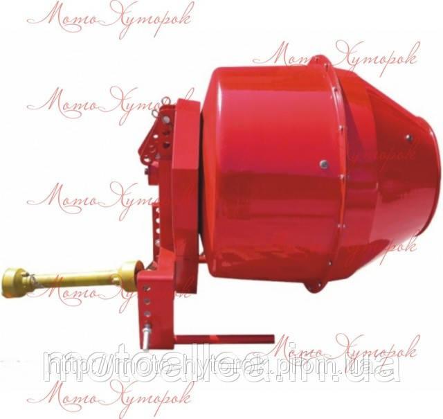 Бетономешалка (бетоносмеситель) тракторная навесная, на вал отбора мощности, бак на 300 л.