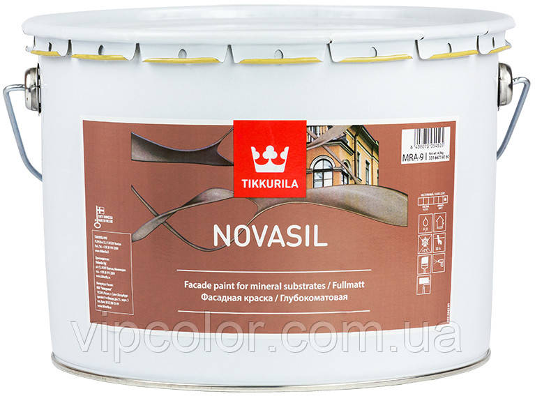 Tikkurila Novasil щелочестойкая фасадная краска MRA 9л
