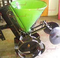 Картофелесажалка КСМ-4 мотоблочная, однорядная, фото 1
