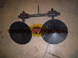 Окучник дисковый регулируемый для мотоблока, на подшипниках, фото 2