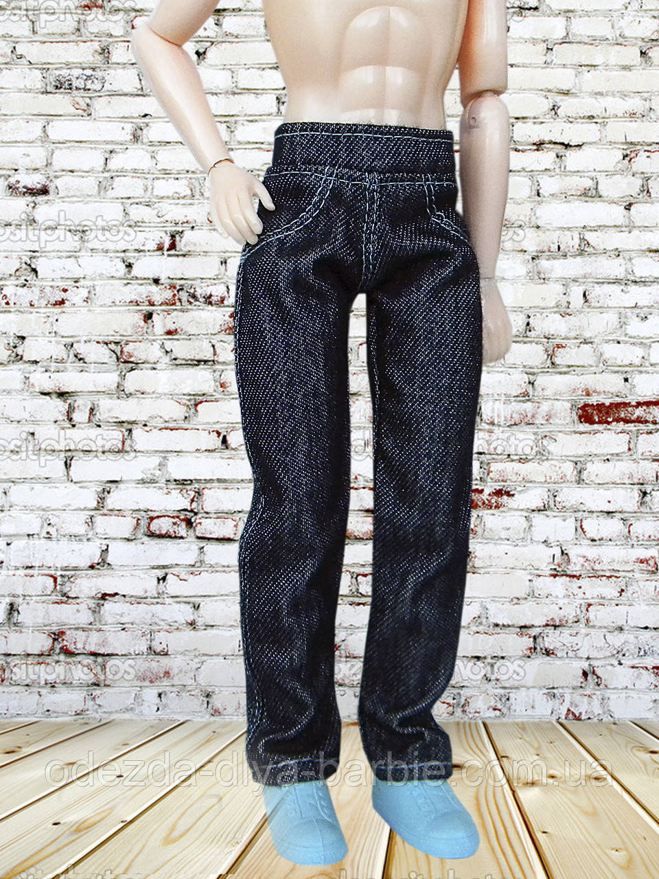 Одежда для Кена - джинсы