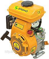 Двигатель бензиновый SADKO GE 100 мощность 2,5 л.с., один цилиндр, ручной запуск